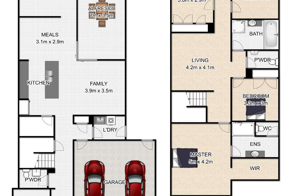 Floorplan of Homely house listing, 11 Seaside Close, Thorneside QLD 4158