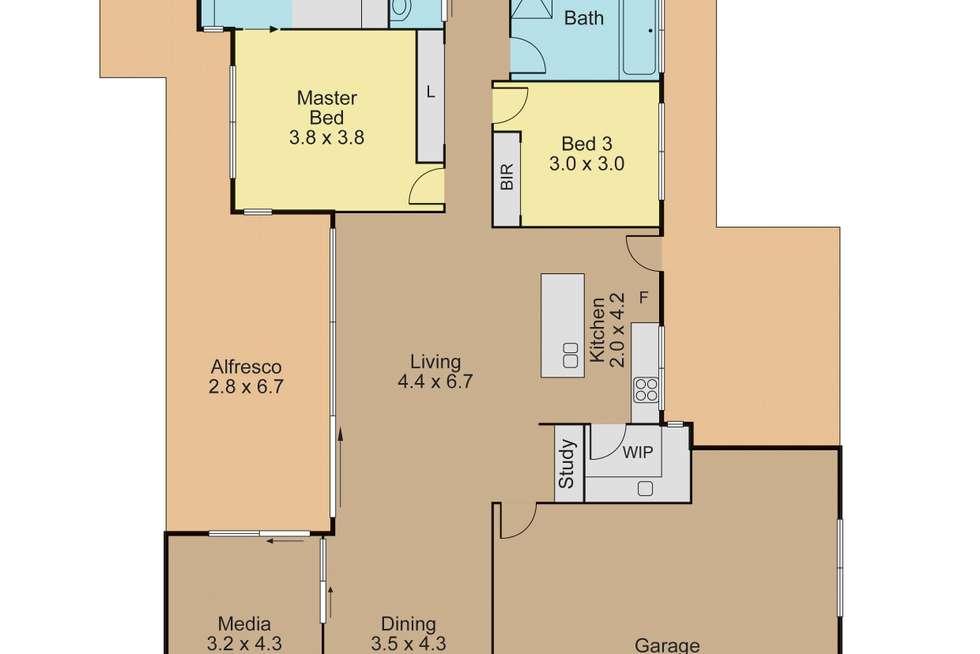 Floorplan of Homely house listing, 6 Bowerbird Close, Peregian Springs QLD 4573