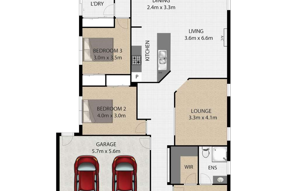 Floorplan of Homely house listing, 23 Lynch Crescent, Birkdale QLD 4159