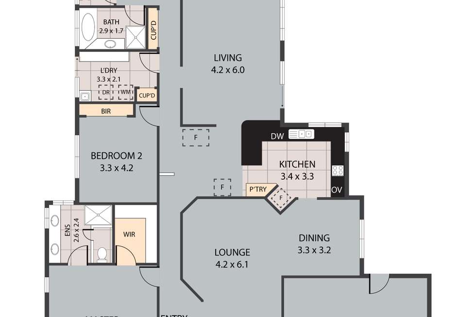 Floorplan of Homely house listing, 672 Main Road, Wellington Point QLD 4160