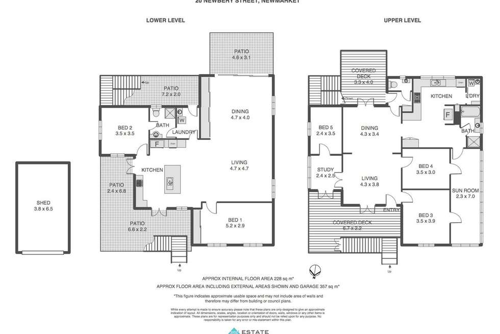 Floorplan of Homely house listing, 20 Newbery Street, Newmarket QLD 4051