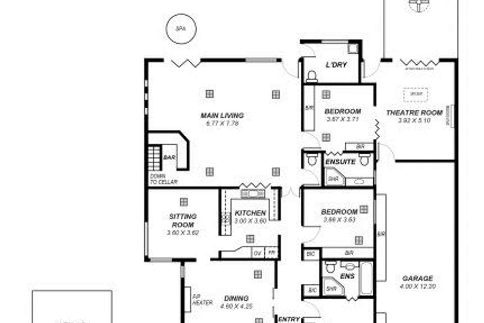 Floorplan of Homely house listing, 48 Lambert Road, Royston Park SA 5070