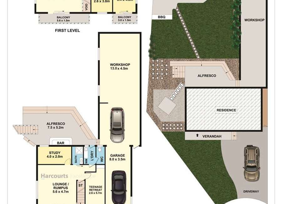 Floorplan of Homely house listing, 19 Roberts Place, Mcgraths Hill NSW 2756