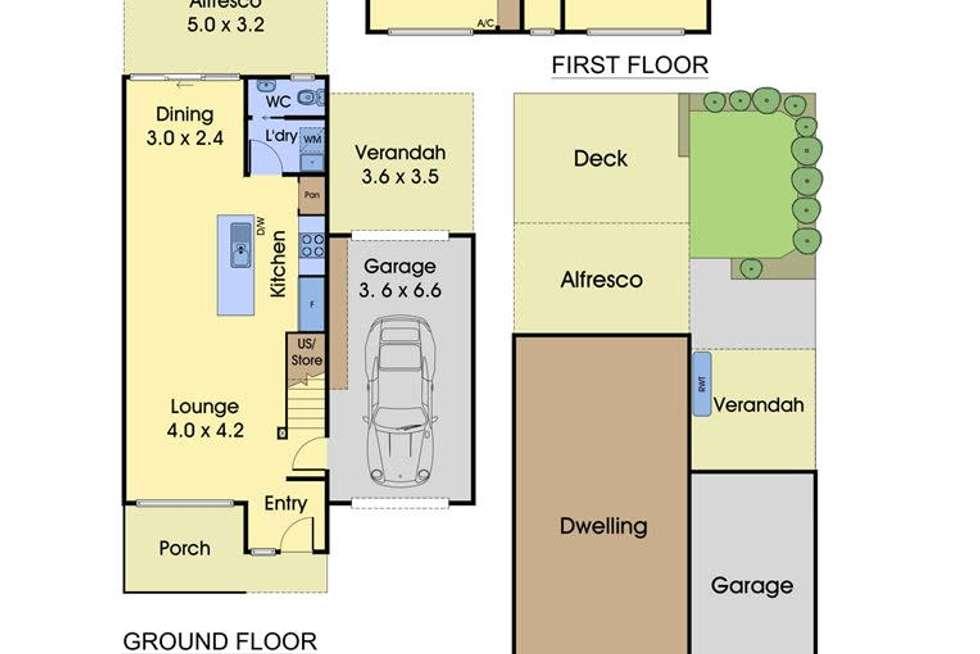 Floorplan of Homely house listing, 5 Tivoli Road, Mulgrave VIC 3170