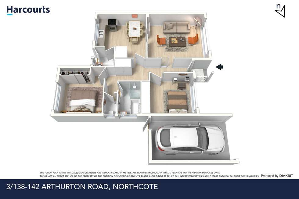 Floorplan of Homely unit listing, 3/138-142 Arthurton Road, Northcote VIC 3070
