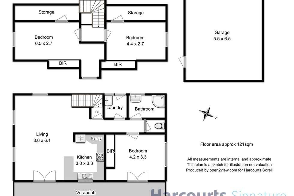 Floorplan of Homely house listing, 5 Frederick Street, Sorell TAS 7172