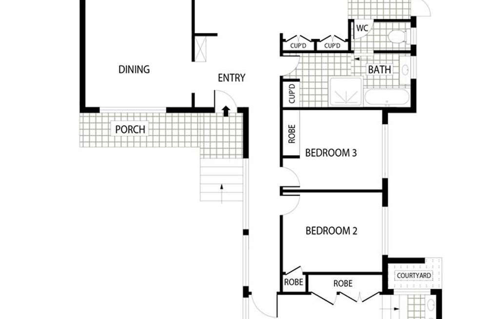 Floorplan of Homely house listing, 76 Daley Crescent, Fraser ACT 2615