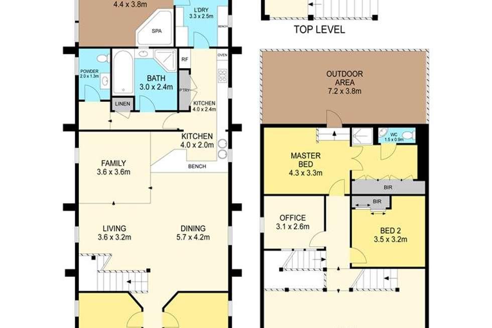 Floorplan of Homely house listing, 802 Warrenheip Street, Buninyong VIC 3357