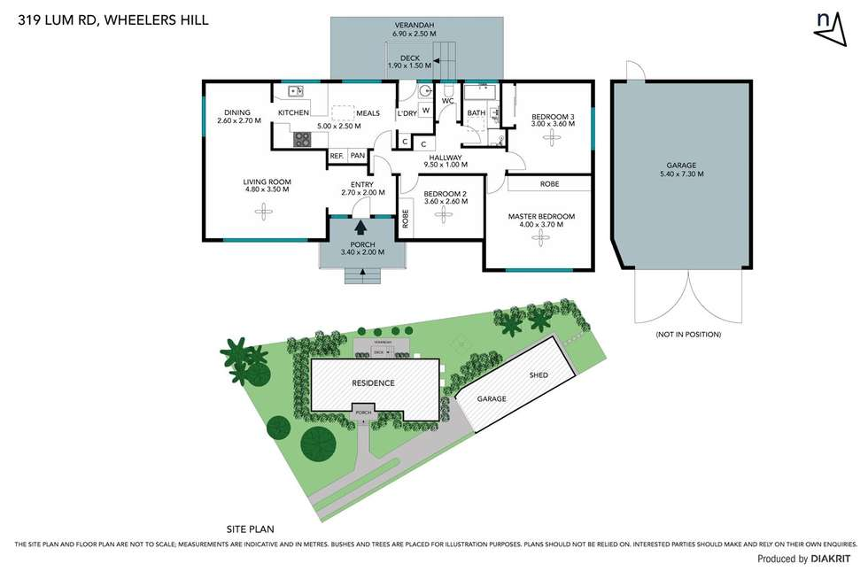 Floorplan of Homely house listing, 319 Lum Road, Wheelers Hill VIC 3150