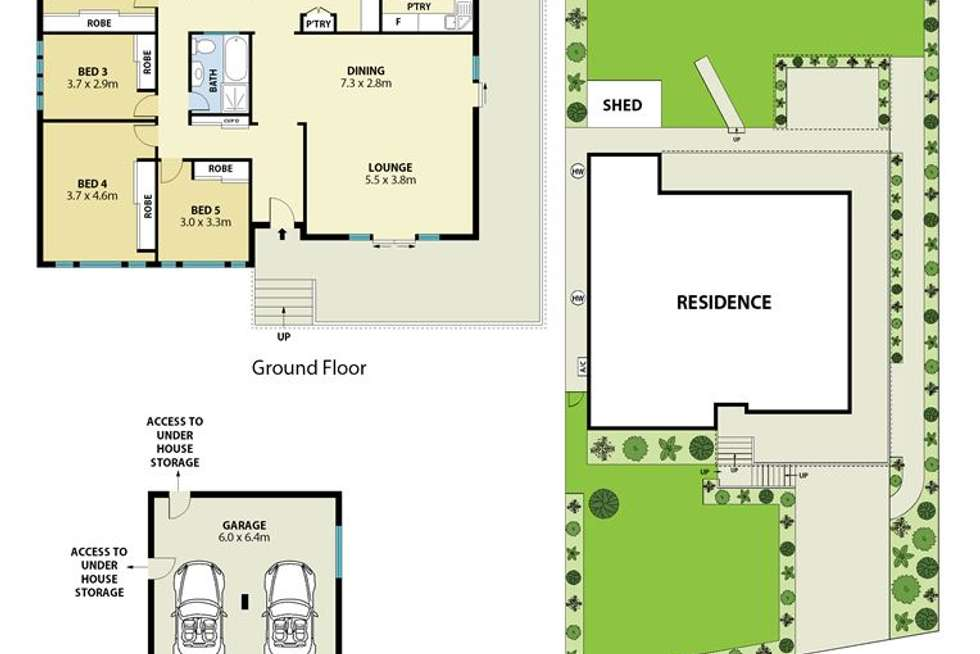 Floorplan of Homely house listing, 27 Delaware Road, Ermington NSW 2115