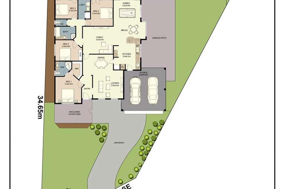 Floorplan of Homely house listing, 11 Jurien Close, Warnbro WA 6169