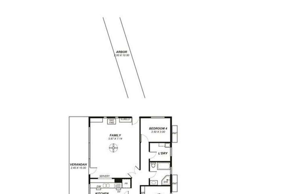 Floorplan of Homely house listing, 11 Hogan Road, Nairne SA 5252