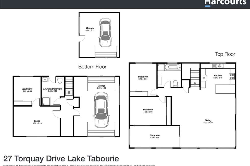 Floorplan of Homely house listing, 27 Torquay Drive, Lake Tabourie NSW 2539