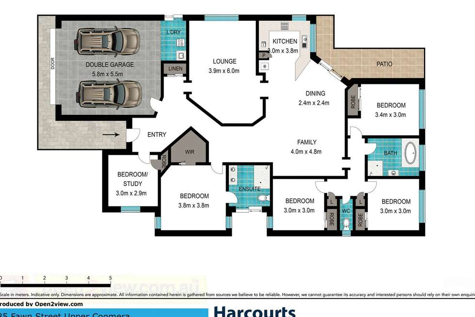 Floorplan of Homely house listing, 35 Fawn Street, Upper Coomera QLD 4209