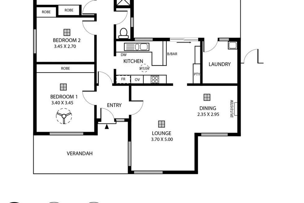 Floorplan of Homely house listing, 11a Cornwall Drive, Gulfview Heights SA 5096