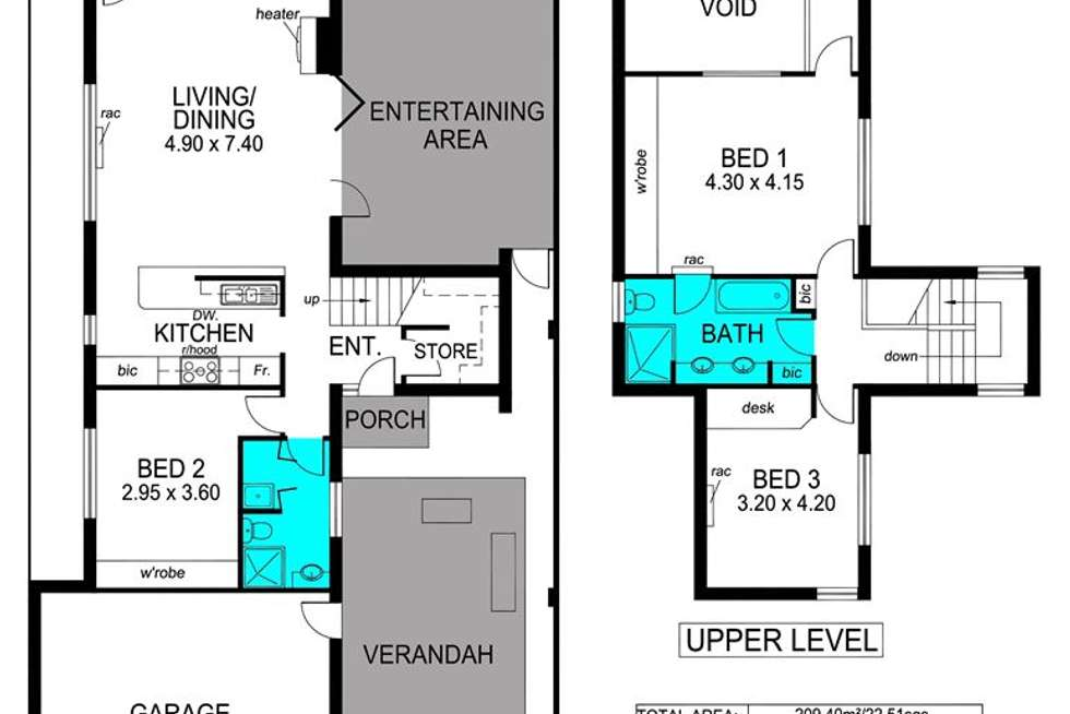 Floorplan of Homely house listing, 12 Quin Street, Bowden SA 5007