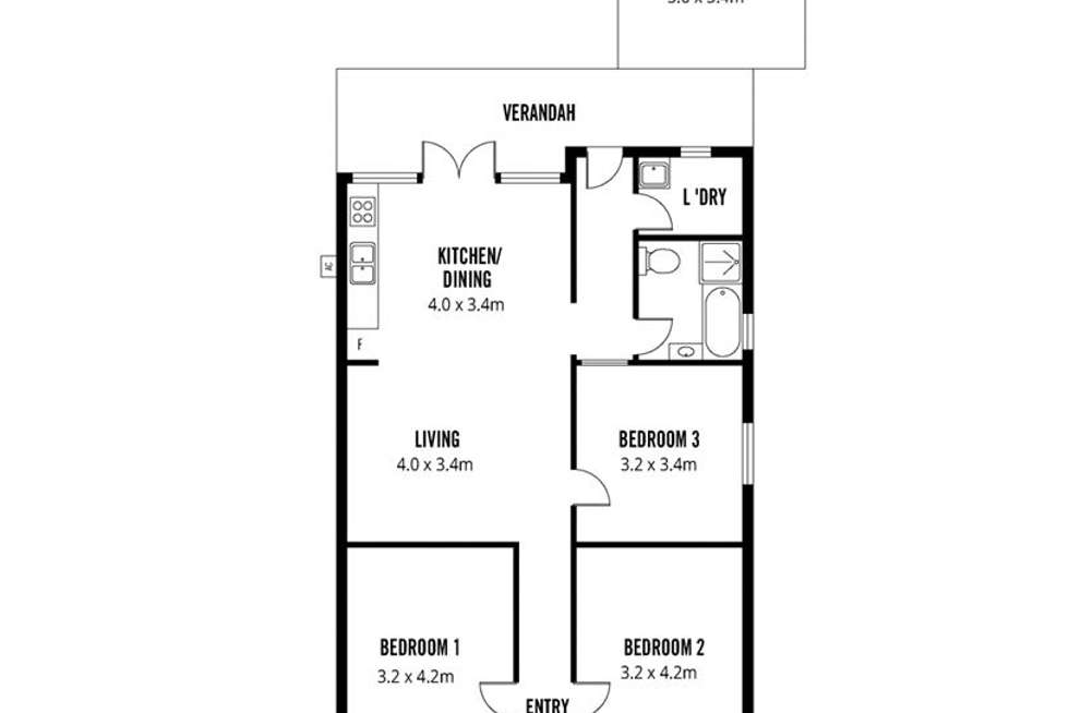 Floorplan of Homely house listing, 18 Tomsey Street, Adelaide SA 5000