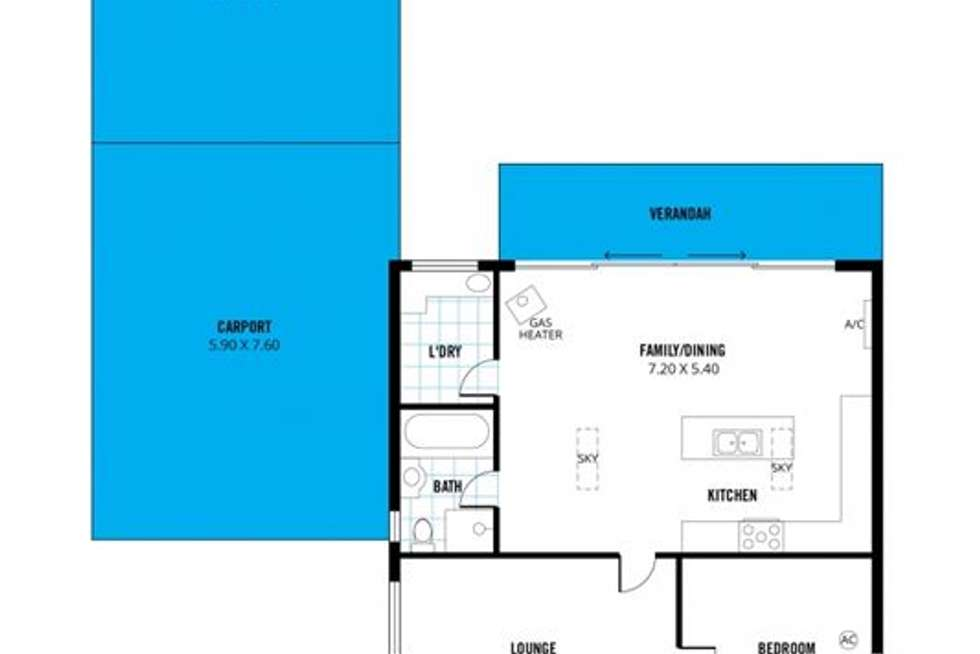 Floorplan of Homely house listing, 14 View Street, Colonel Light Gardens SA 5041