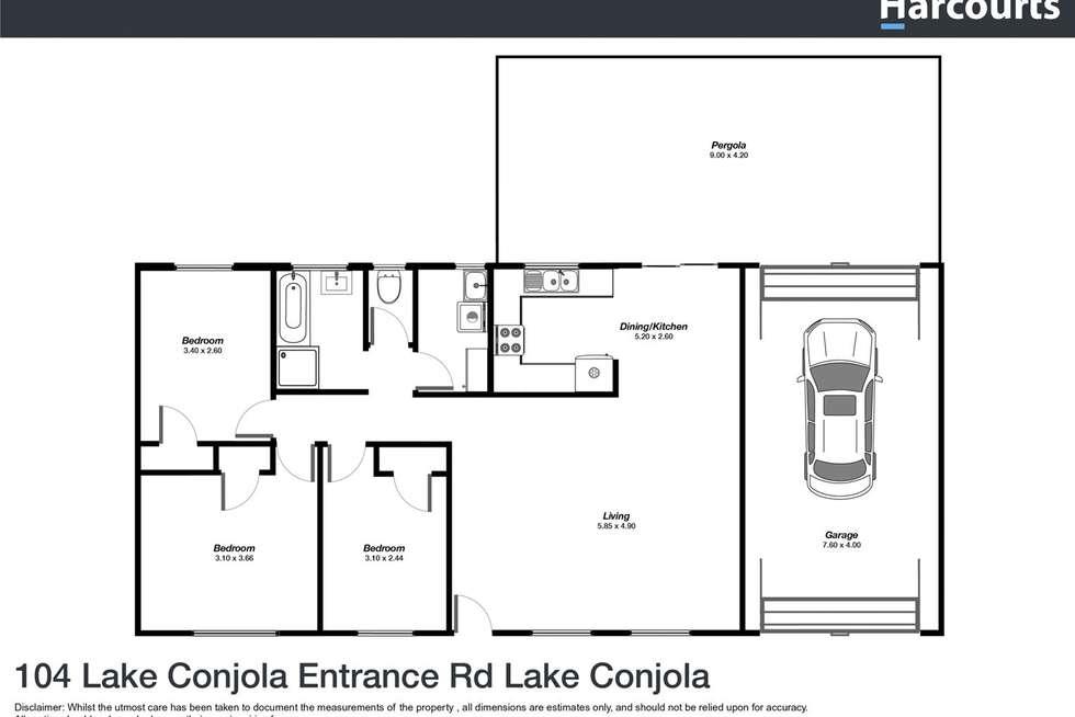 Floorplan of Homely house listing, 104 Lake Conjola Entrance Road, Lake Conjola NSW 2539