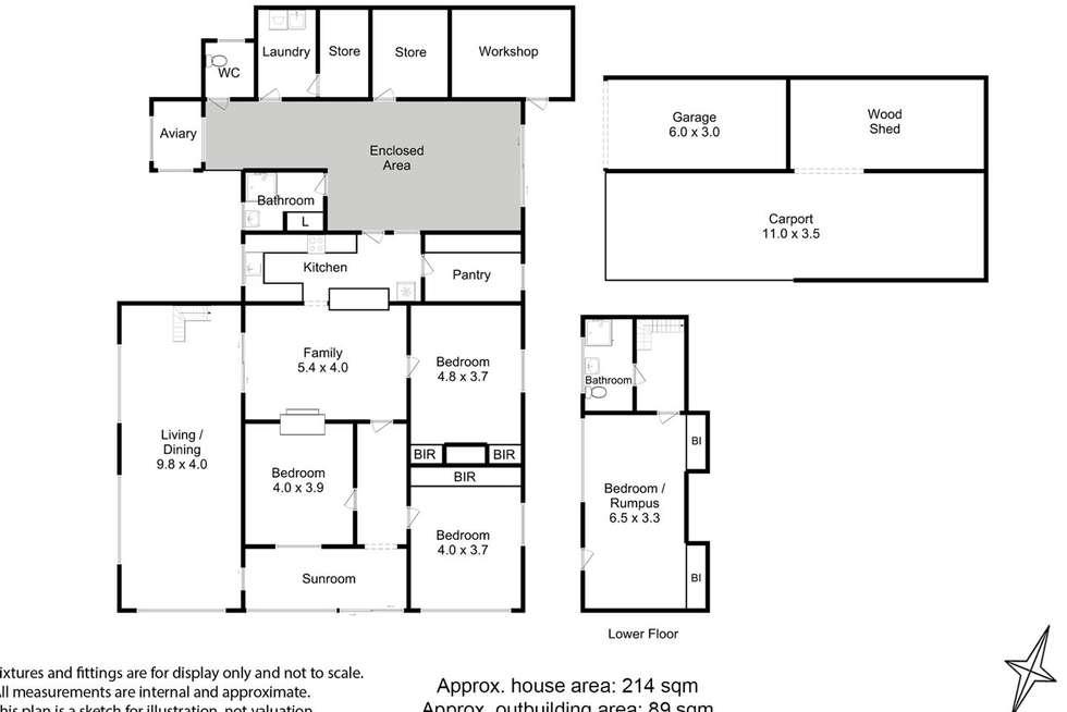 Floorplan of Homely house listing, 91 Kermandie River Road, Geeveston TAS 7116