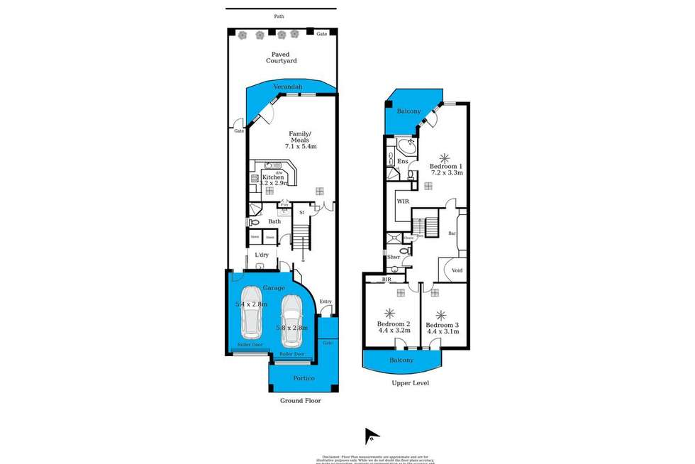 Floorplan of Homely house listing, 9 Alexa Road, North Haven SA 5018