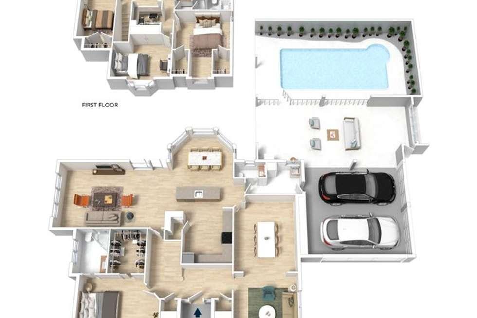Floorplan of Homely house listing, 6 Douglas Fir Court, Aberfoyle Park SA 5159