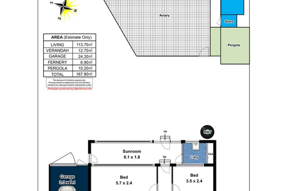 Floorplan of Homely house listing, 25 Roy Terrace, Christies Beach SA 5165