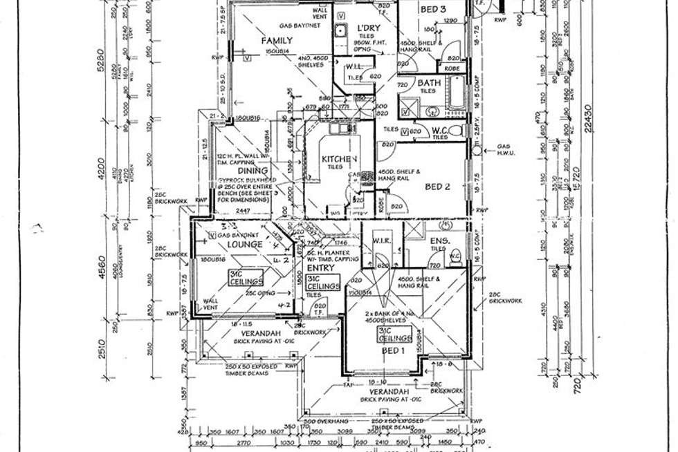 Floorplan of Homely house listing, 61 Delamere Avenue, Currambine WA 6028