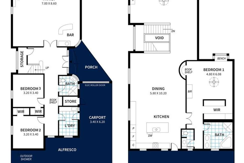 Floorplan of Homely house listing, 44 Ocean Road, Port Elliot SA 5212