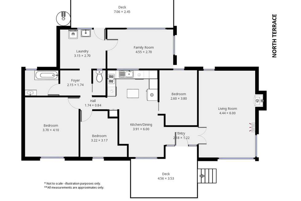 Floorplan of Homely house listing, 18 East Terrace, Curramulka SA 5580