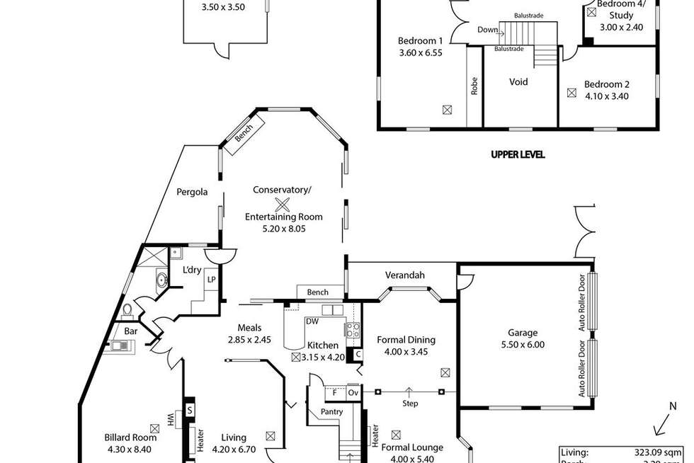 Floorplan of Homely house listing, 28 Beeston Way, West Lakes SA 5021