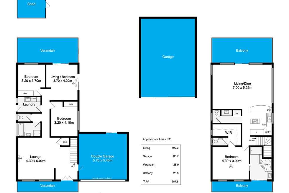 Floorplan of Homely house listing, 30 Greenhills Road, Victor Harbor SA 5211