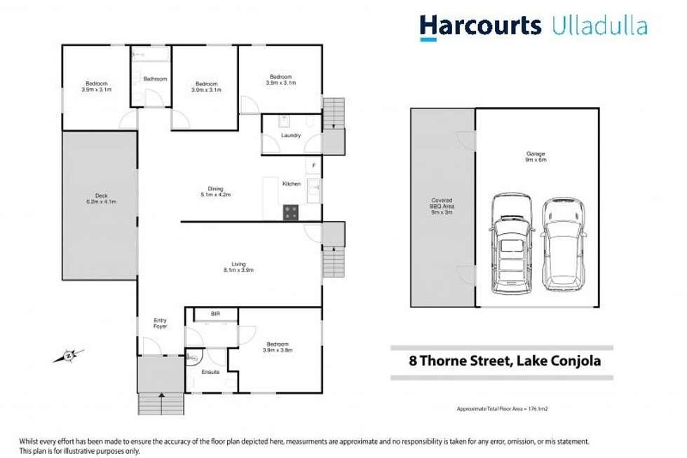 Floorplan of Homely house listing, 8 Thorne Street, Lake Conjola NSW 2539