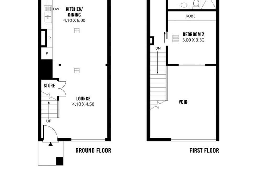 Floorplan of Homely apartment listing, 54/237 Wakefield Street, Adelaide SA 5000