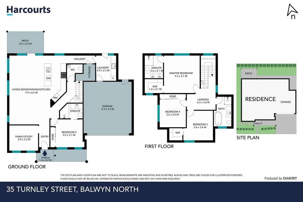 Floorplan of Homely house listing, 35 Turnley Street, Balwyn North VIC 3104
