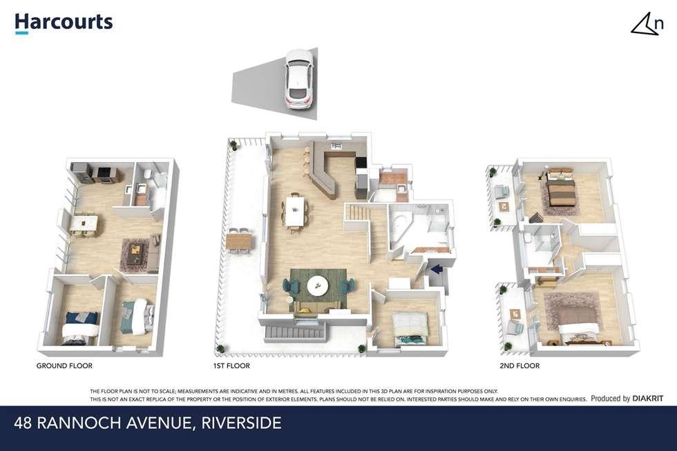 Floorplan of Homely house listing, 48 Rannoch Avenue, Riverside TAS 7250