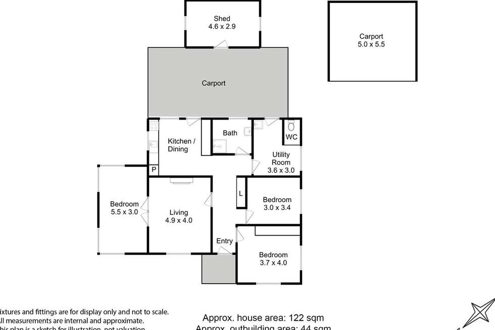 Floorplan of Homely house listing, 9 Stride Street, Huonville TAS 7109