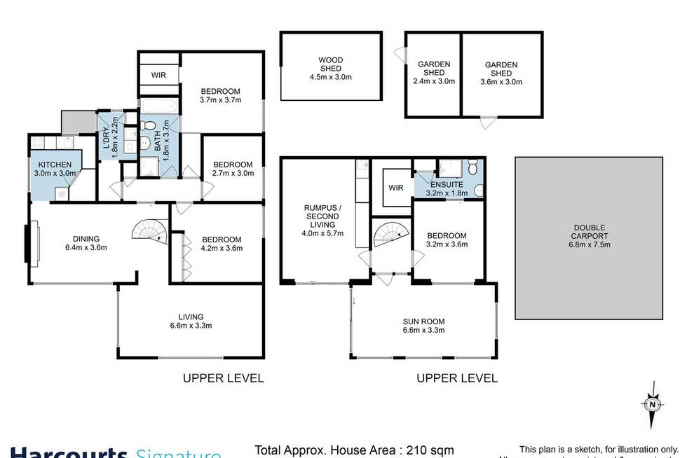 Floorplan of Homely house listing, 24 Walch Avenue, Moonah TAS 7009
