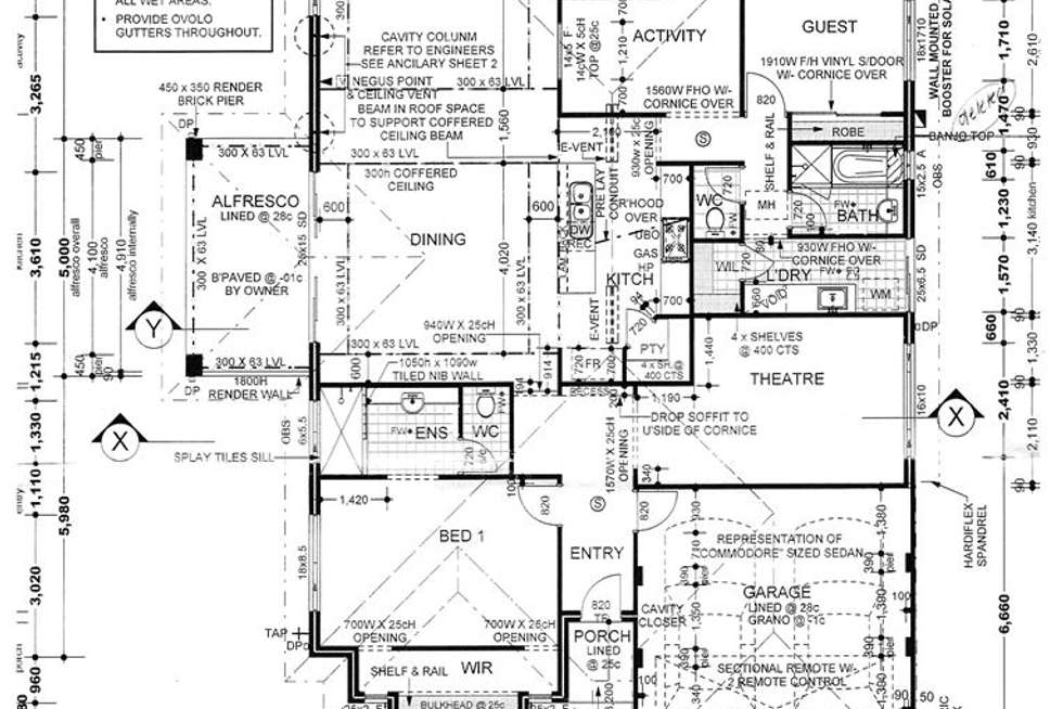 Floorplan of Homely house listing, 35 Flinders Crescent, Abbey WA 6280