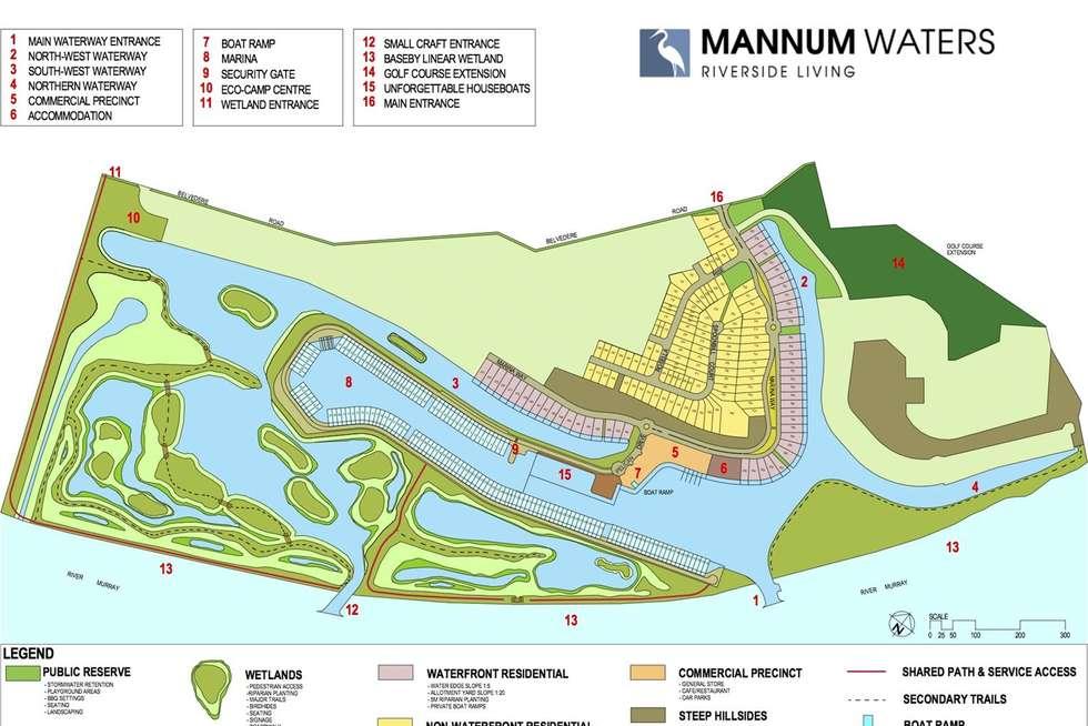 Floorplan of Homely residentialLand listing, 251-257 Rosella Rise, Mannum SA 5238