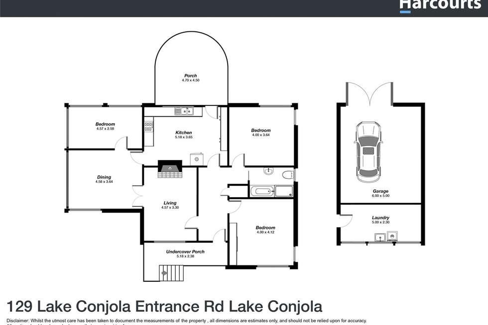 Floorplan of Homely house listing, 129 Lake Conjola Entrance Road, Lake Conjola NSW 2539