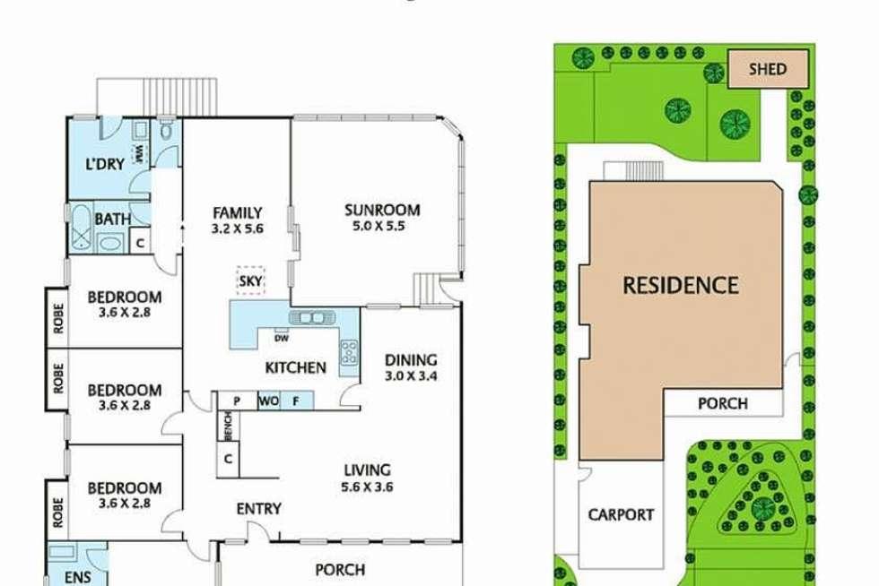 Floorplan of Homely house listing, 49 Barlyn Road, Mount Waverley VIC 3149