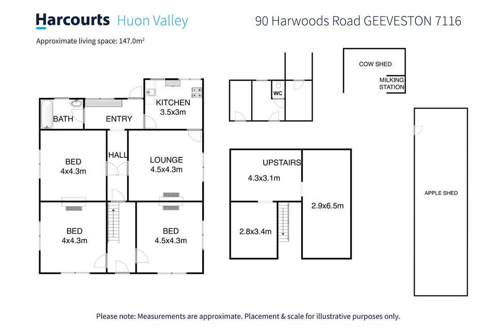 Floorplan of Homely house listing, 90 Harwoods Road, Geeveston TAS 7116