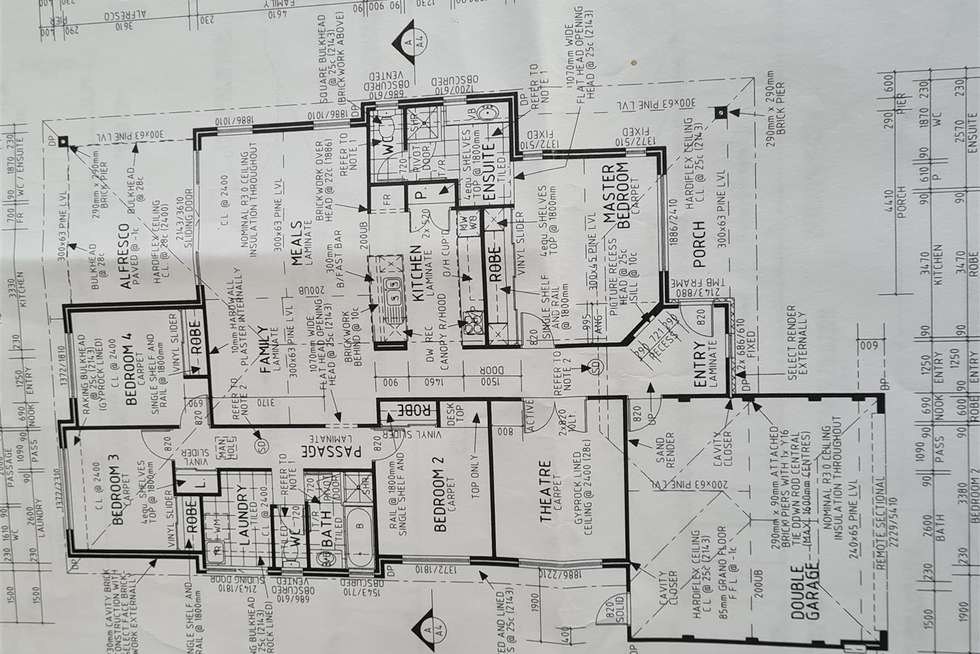 Floorplan of Homely house listing, 61 Nancarrow Way, Ravenswood WA 6208