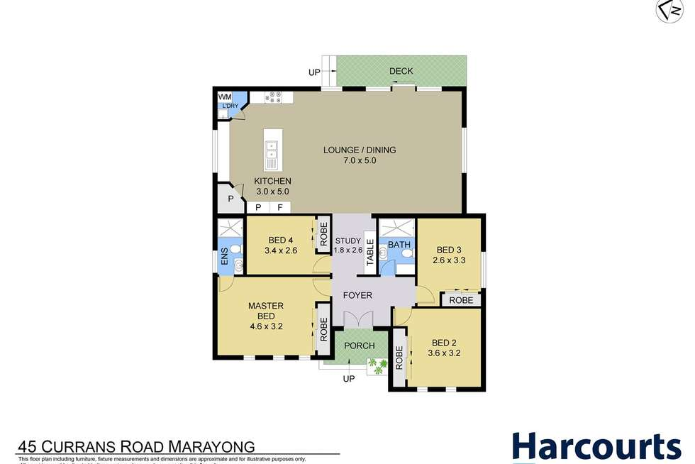 Floorplan of Homely house listing, 45 Curran Road, Marayong NSW 2148