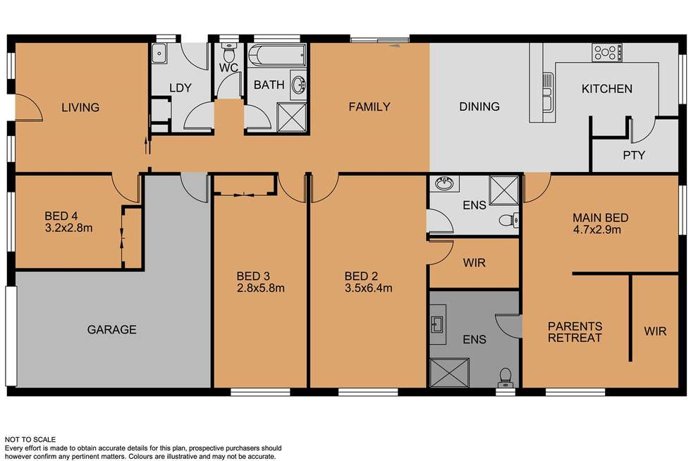 Floorplan of Homely house listing, 20 Sky Way, Carrum Downs VIC 3201