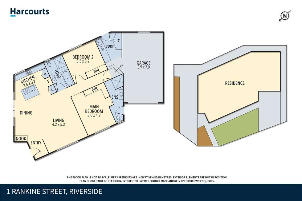 Floorplan of Homely villa listing, 1 Rankine Street, Riverside TAS 7250