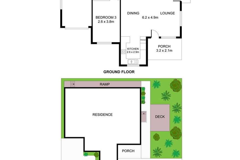 Floorplan of Homely villa listing, 5 Melville Street, Kincumber NSW 2251