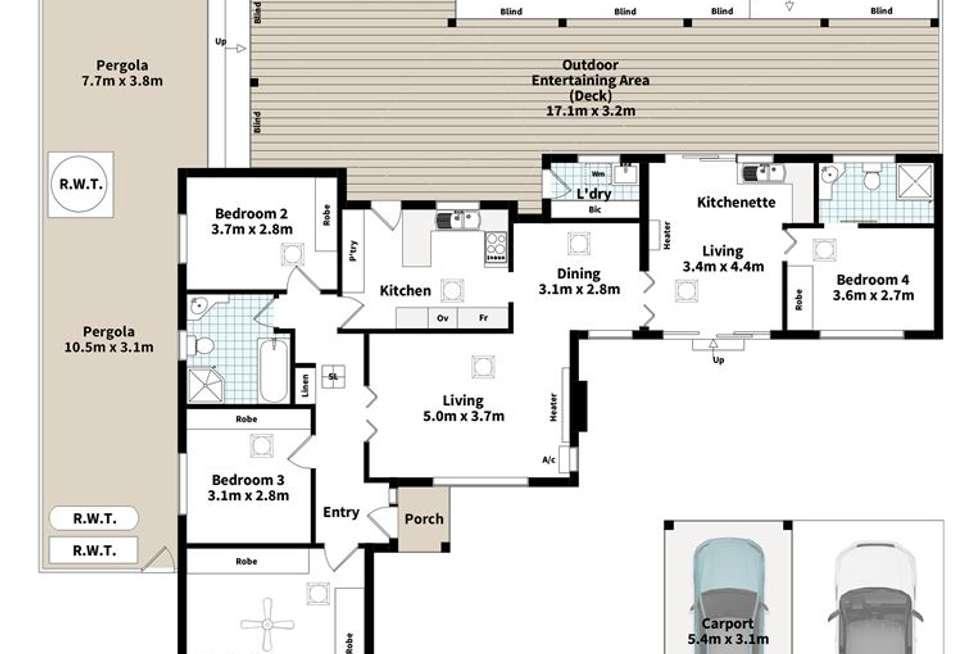 Floorplan of Homely house listing, 39 Wakefield Avenue, Morphett Vale SA 5162