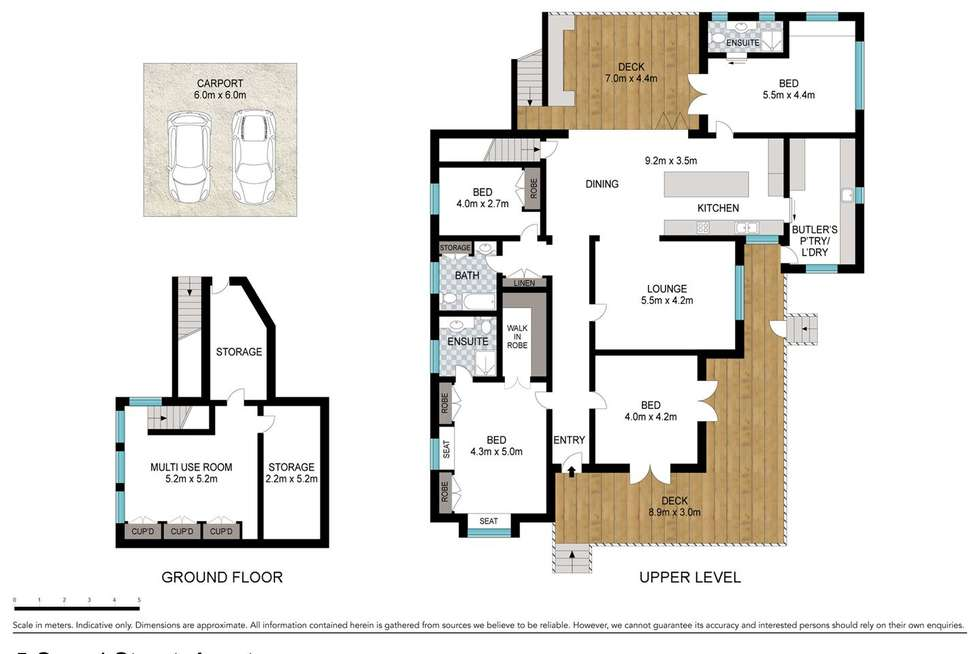 Floorplan of Homely house listing, 5 Sword Street, Ascot QLD 4007